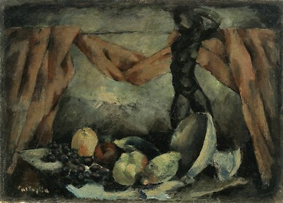 Marino Tartaglia, Still life, 1921., oil on canvas, 47 x 66 cm