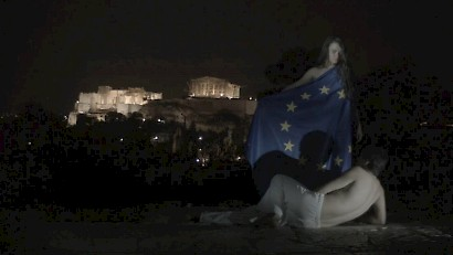 Gildo Bavčević, EU Sleeping, 2015., video still