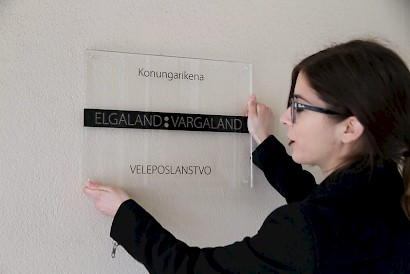 Opening of the honorary Consulate of The Kingdom of Elgaland - Vargaland