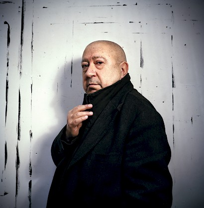 Christian Boltanski, photo by  Portrait Box - Julien Chatelin