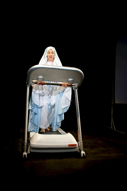 Apparition (of Virgin Mary), performance, 2011/2012