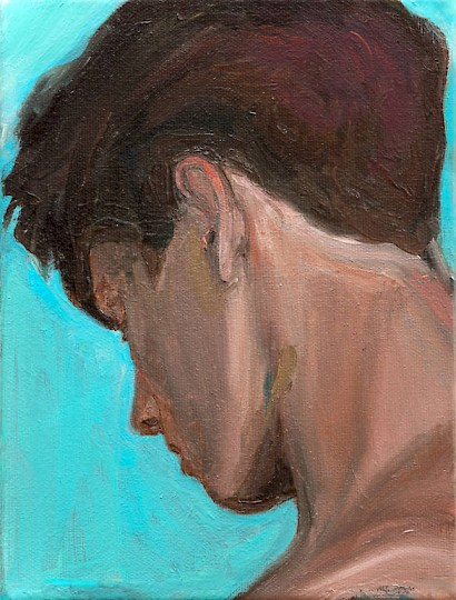 The Candidate, 2015, oil on canvas, 18 x 24 cm