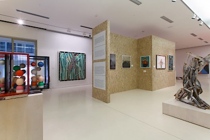 ART FROM THE 1960s UNTIL PRESENT // About Art, installation view, Museum of Fine Arts Split, May 2015