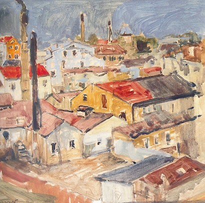 The Roofs of Split, 1937 cca