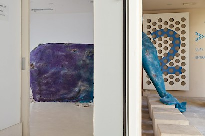 Tina Vukasović // Arnie, installation view, Museum of Fine Arts Split, 2015