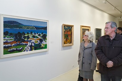 Artworks From The Private Collections Of Central Dalmatia, exhibition opening, Museum of Fine Arts Split, March 2016