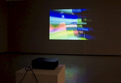 Michel Mesarić, RGB Song, audio-video instalacija, 2017.