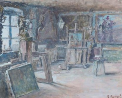 Emanuel Vidović, The Studio Interior, 1938
